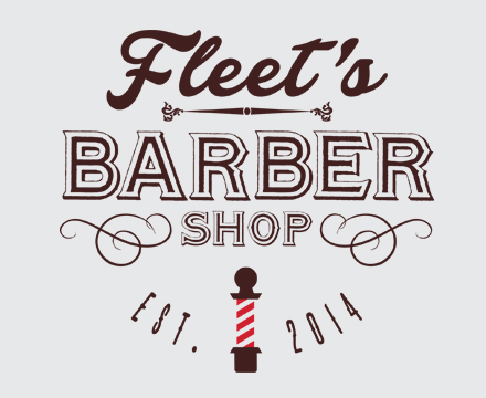 DD Studios | Work - Fleet's Barber Shop